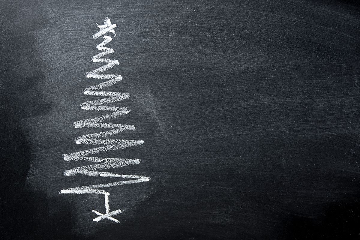 """""""I have come to realize my gift of chalk really wasn't my worst gift ever … in fact, I don't believe I ever have had a """"worst gift."""" Why? Because the words """"worst"""" and """"gift"""" just don't go together in my book."""""""