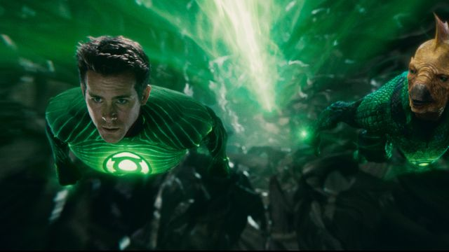 Ryan Reynolds as Green Lantern 2011