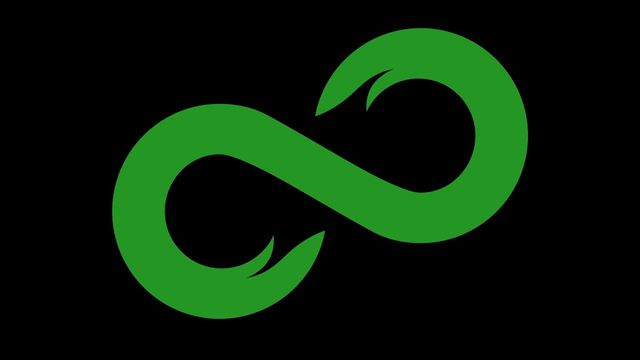 The logo for 8chan, the image board THQ Nordic held an ill-considered AMA on today.