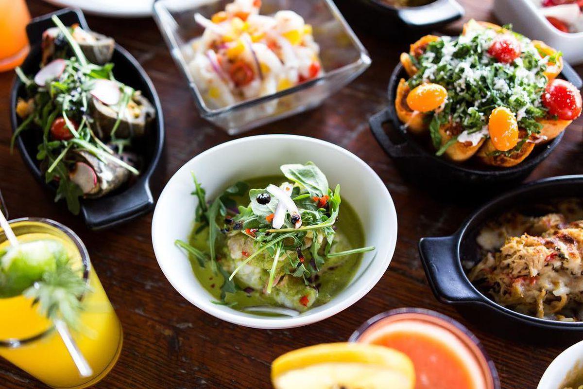 Dishes from Takoba's Barzón
