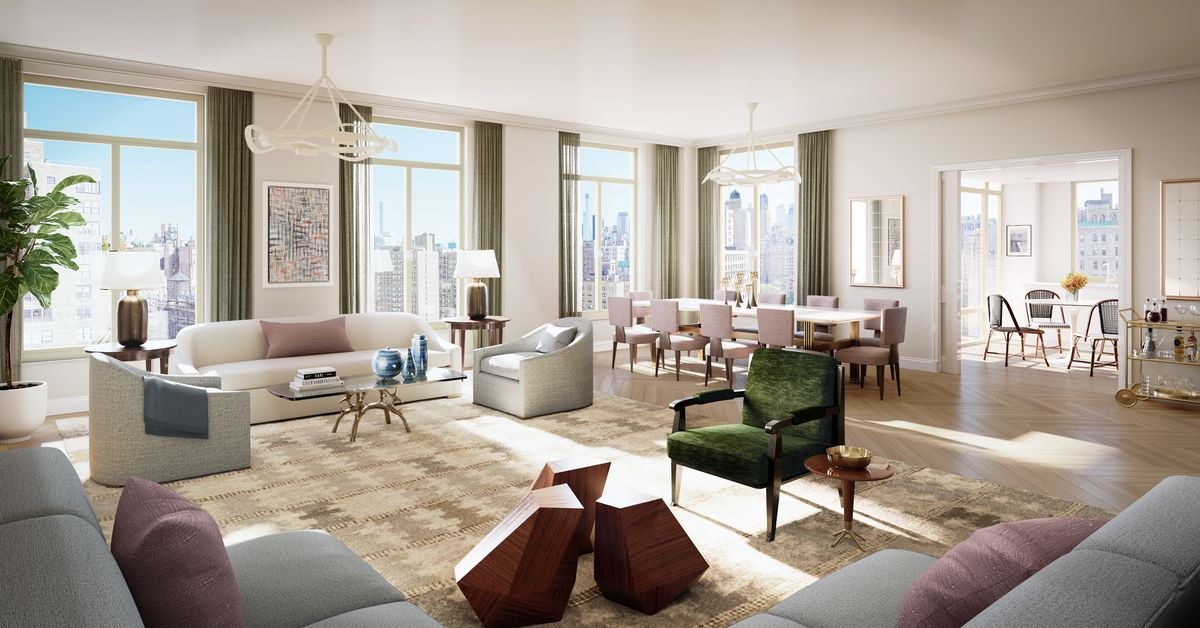 Peek Inside Robert AM Stern's New Upper West Side Condo Curbed NY Inspiration 2 Bedroom Condo Nyc Creative Design