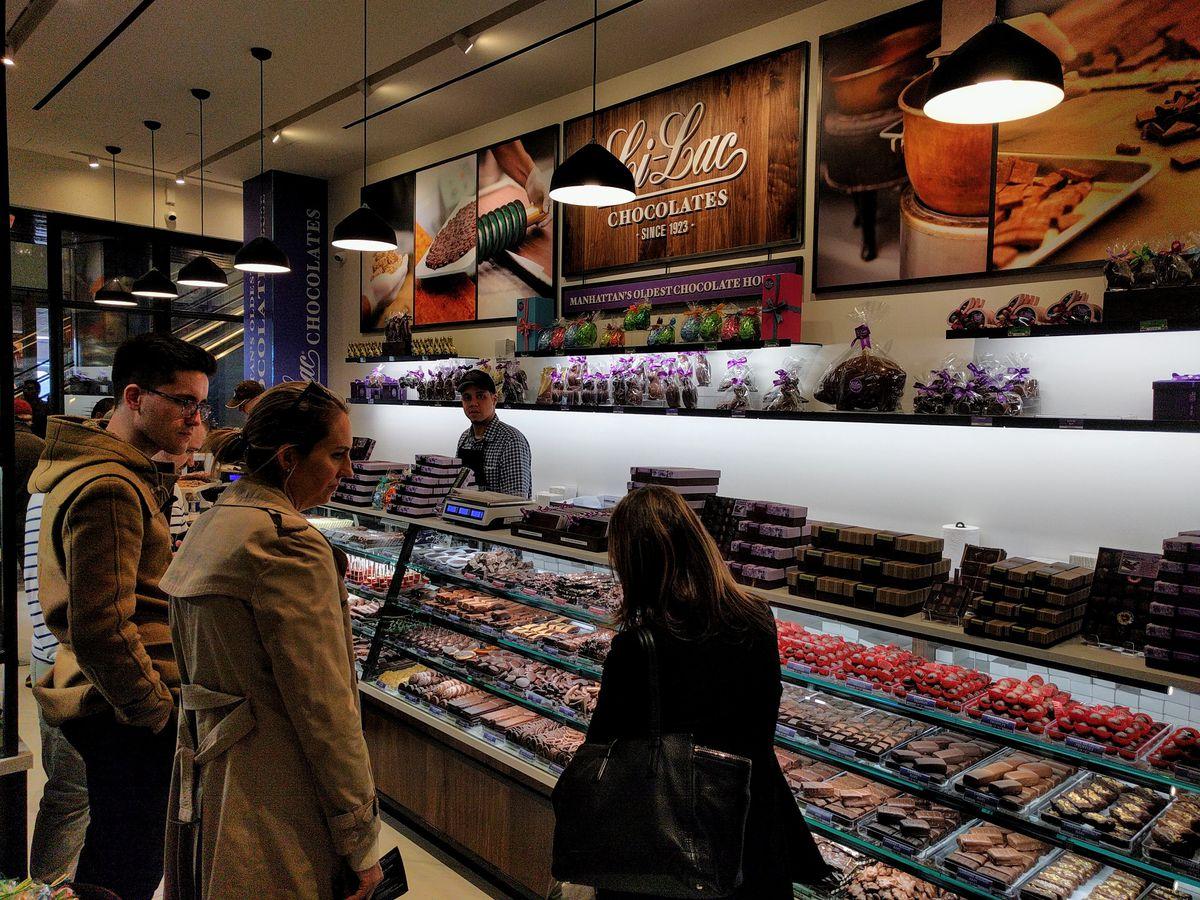 Li-Lac Chocolates at Hudson Yards