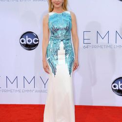 Actress Nicole Kidman arrives at the 64th Primetime Emmy Awards at the Nokia Theatre on Sunday, Sept. 23, 2012, in Los Angeles.