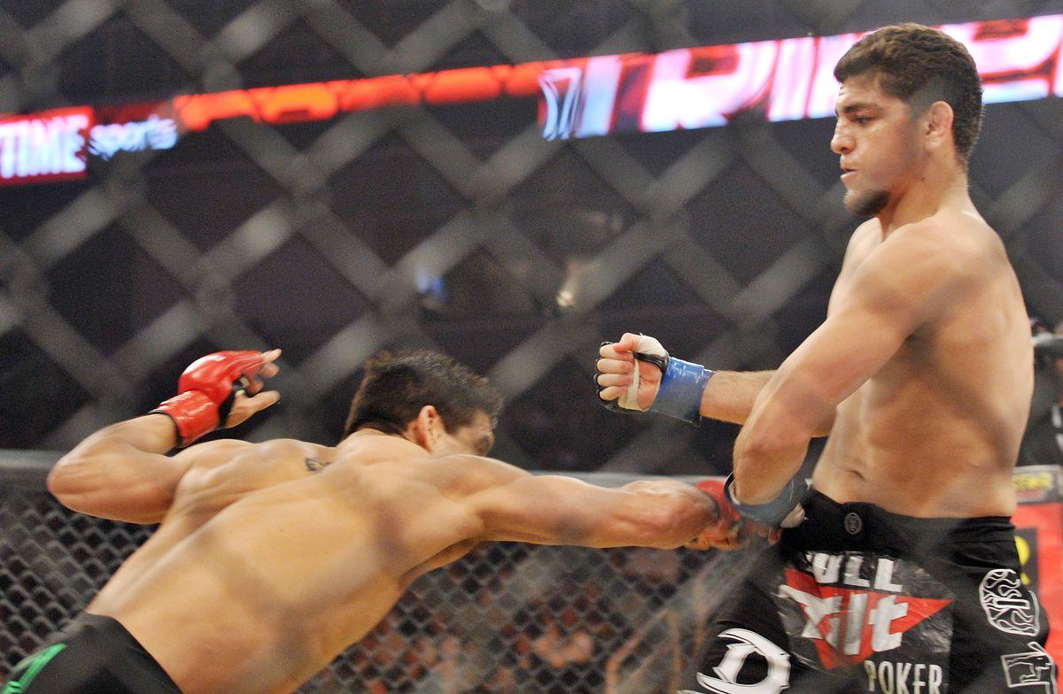 Nick Diaz vs Frank Shamrock back in 2009