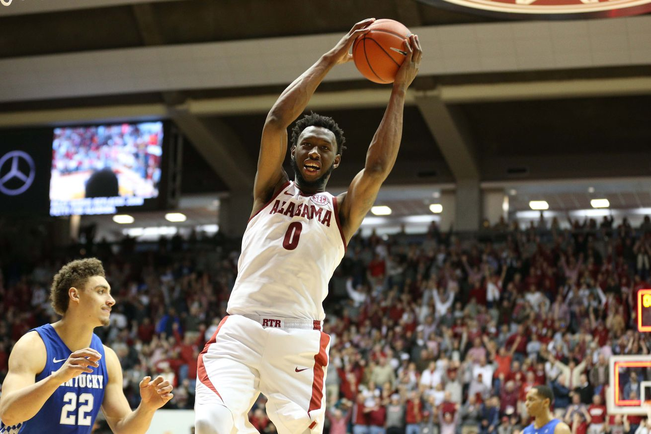 Senior forward Donta Hall churns out double-doubles and might be Alabama's most reliable cog.