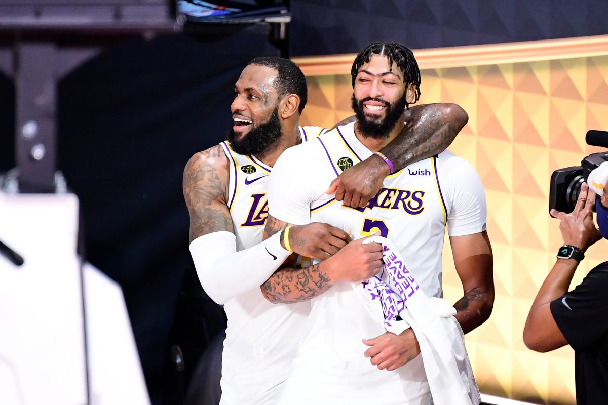 Lebron James Hand Picked The Lakers Roster And It Got Them A Championship Sbnation Com