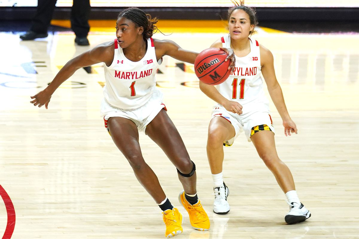 COLLEGE BASKETBALL: FEB 04 Womens - Wisconsin at Maryland