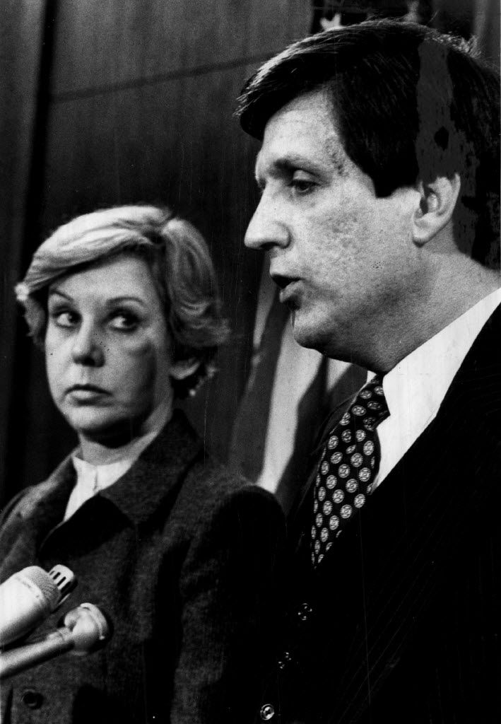 Former Chicago Police Supt. Richard Brzeczek with the late Mayor Jane Byrne in 1980.|Sun-Times file photo