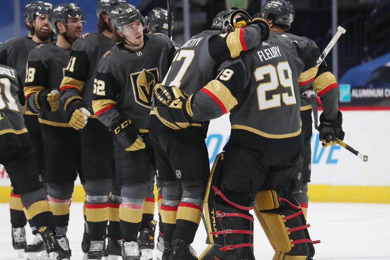 Vegas Golden Knights v Colorado Avalanche