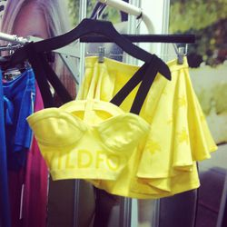 We can't get enough of Wildfox's totally '90s bustier and mini skirt