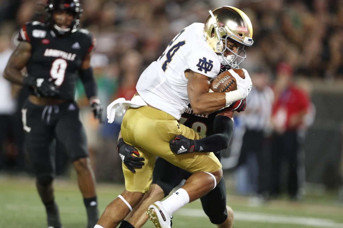 NCAA Football: Notre Dame at Louisville