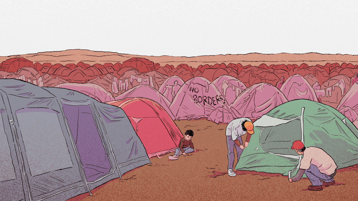 Bury Me, My Admire is the stirring account of a refugee's unhealthy wander