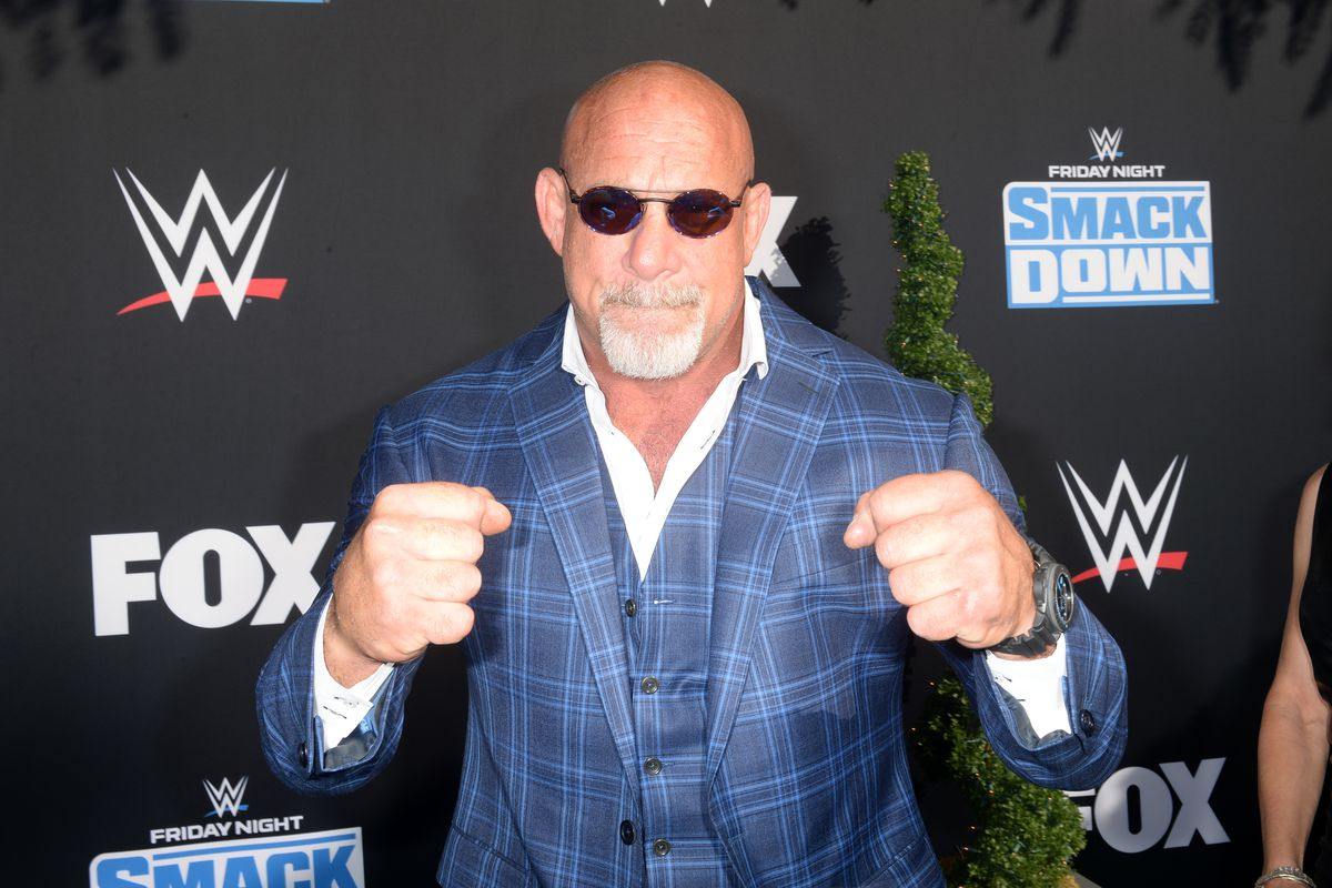 Bill Goldberg attends WWE 20th Anniversary Celebration Marking Premiere of WWE Friday Night SmackDown on FOX at Staples Center on October 04, 2019 in Los Angeles, California
