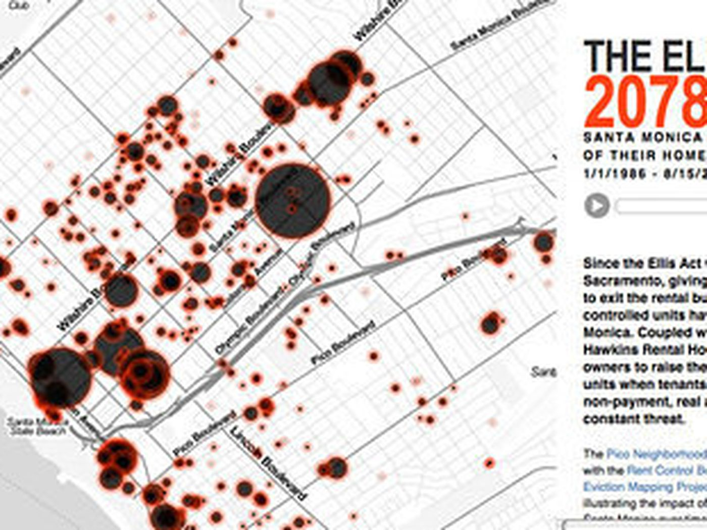 Mapping Santa Monica S 29 Year Explosion In Mass Rent Control Evictions Curbed La