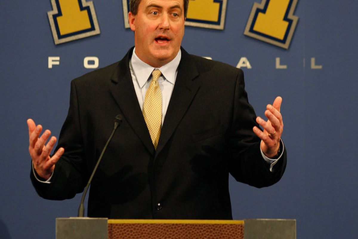 Head coach Paul Chryst made a curious move (Photo by Jared Wickerham/Getty Images)