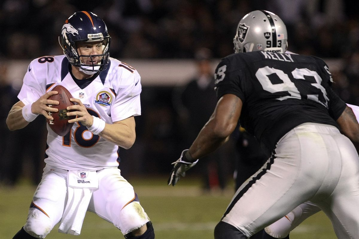 Tommy Kelly is no fan of Peyton Manning.