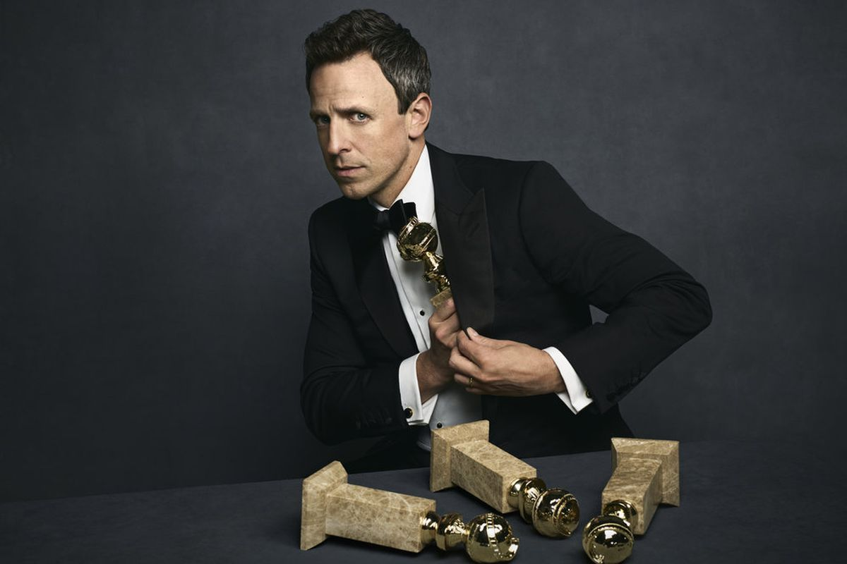Golden Globes 2018: Seth Meyers' Opening Monologue - Grade It!