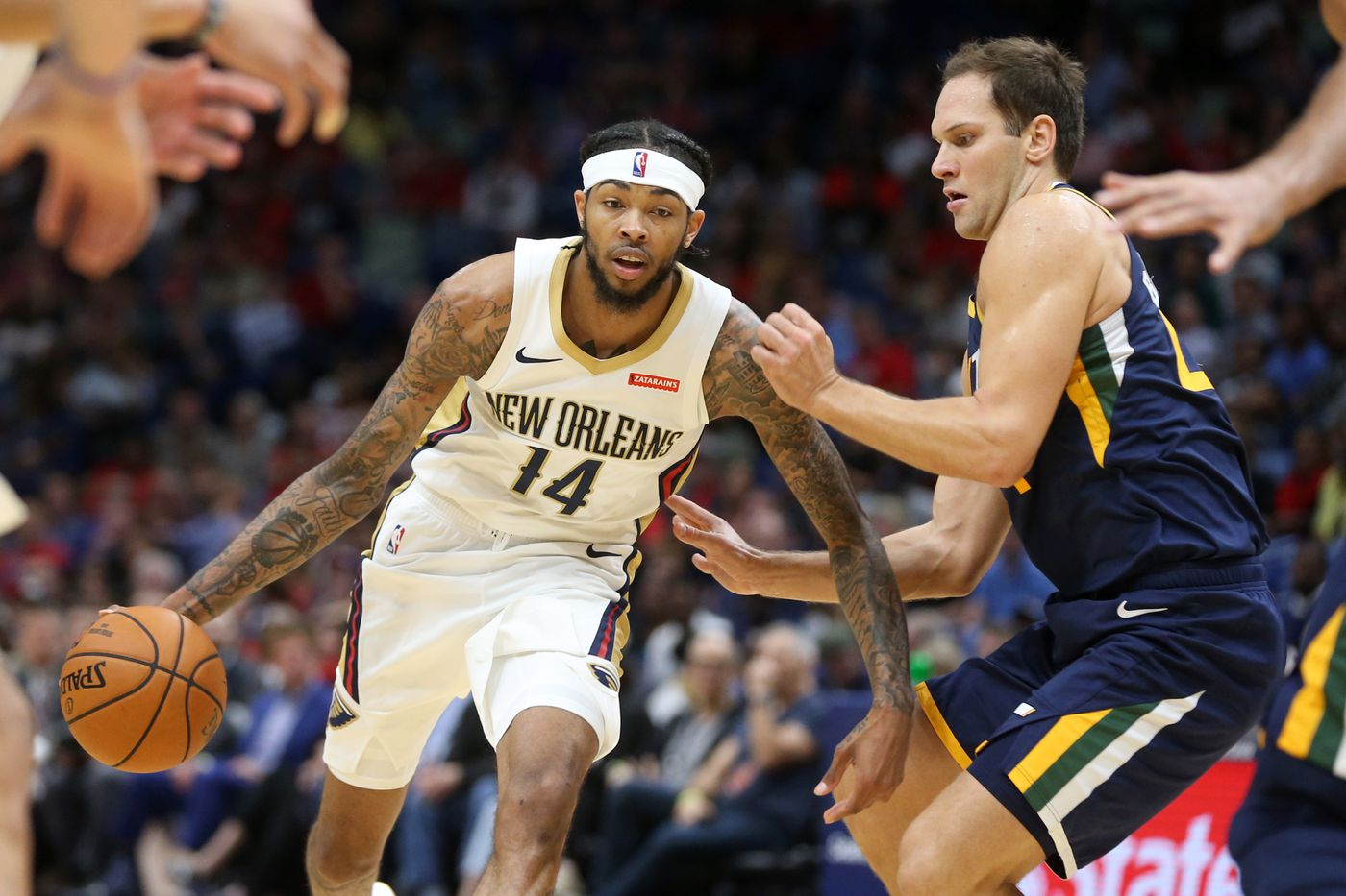 Image result for brandon ingram pelicans usa today