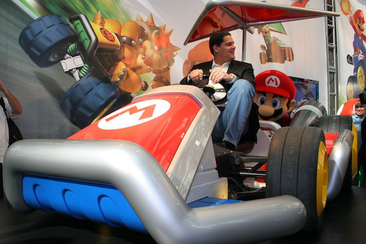 Nintendo Builds Life Sized Mario Karts Drives Them To The La Auto Show