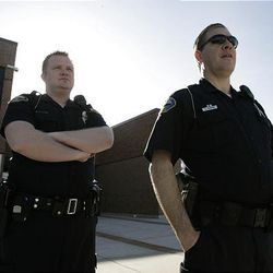 Canyons School District officials asked Sandy police for added security Tuesday at Alta High School.