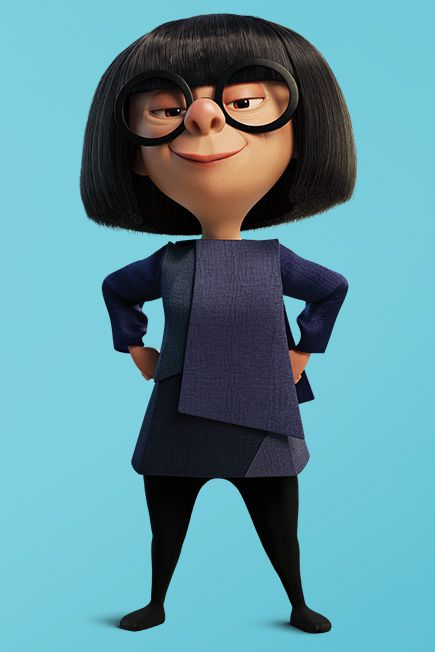 The Incredibles Edna Mode Is Film S Best Fashion Character Racked