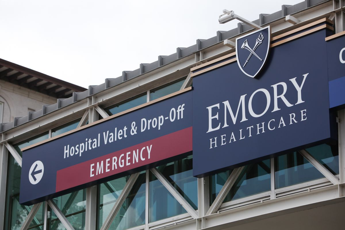 Emory University Hospital, where the American Ebola patients are being treated.