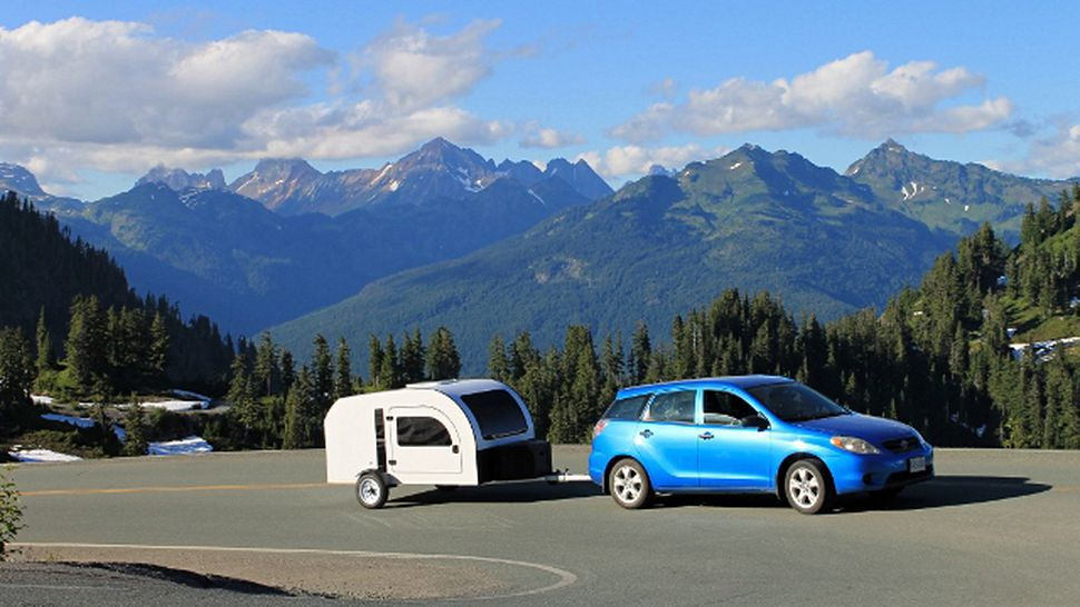 Lightweight Camper Trailer Can Be Towed By Almost Any Car