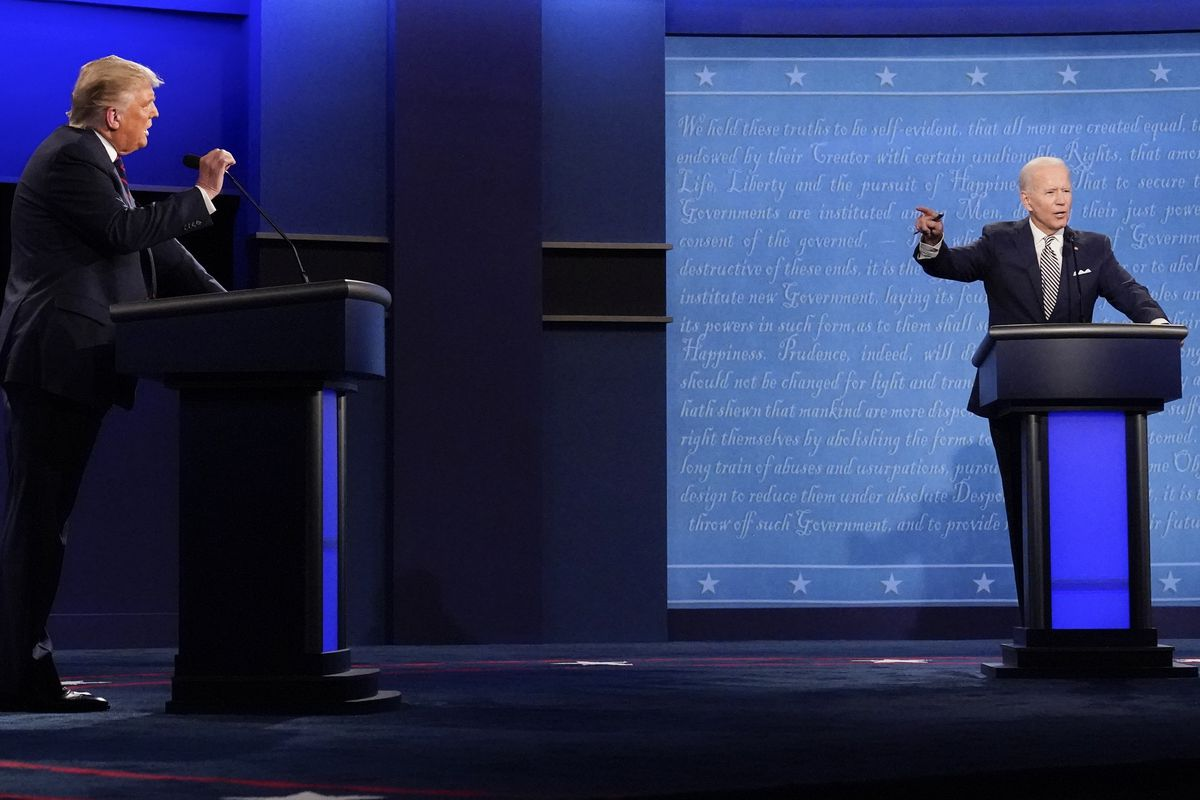 In Our Opinion The Disastrous Presidential Debate Is America S Problem Deseret News