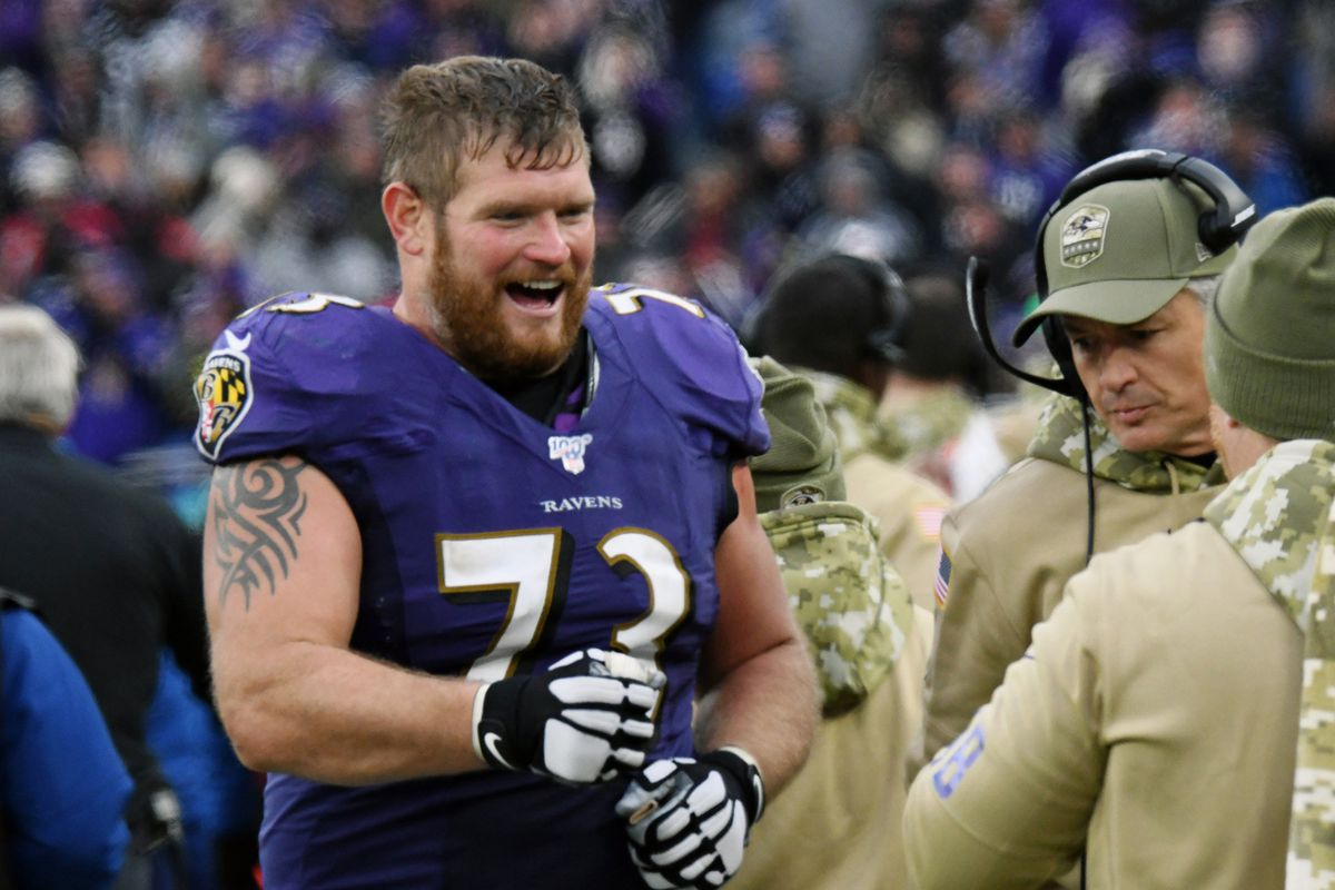 Ravens guard Marshal Yanda is still a great player — and that could make retirement easier to accept