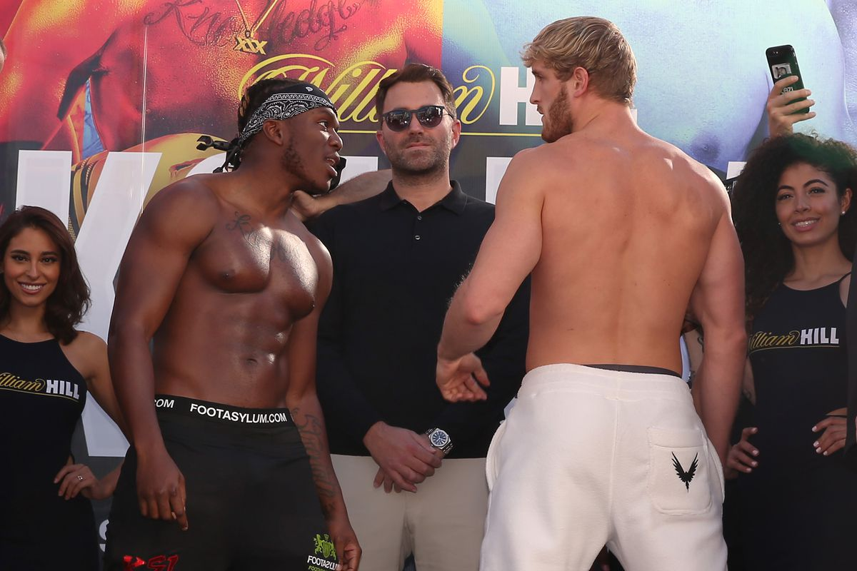 KSI vs Logan Paul: Youtube Live Boxing Match Sold Over