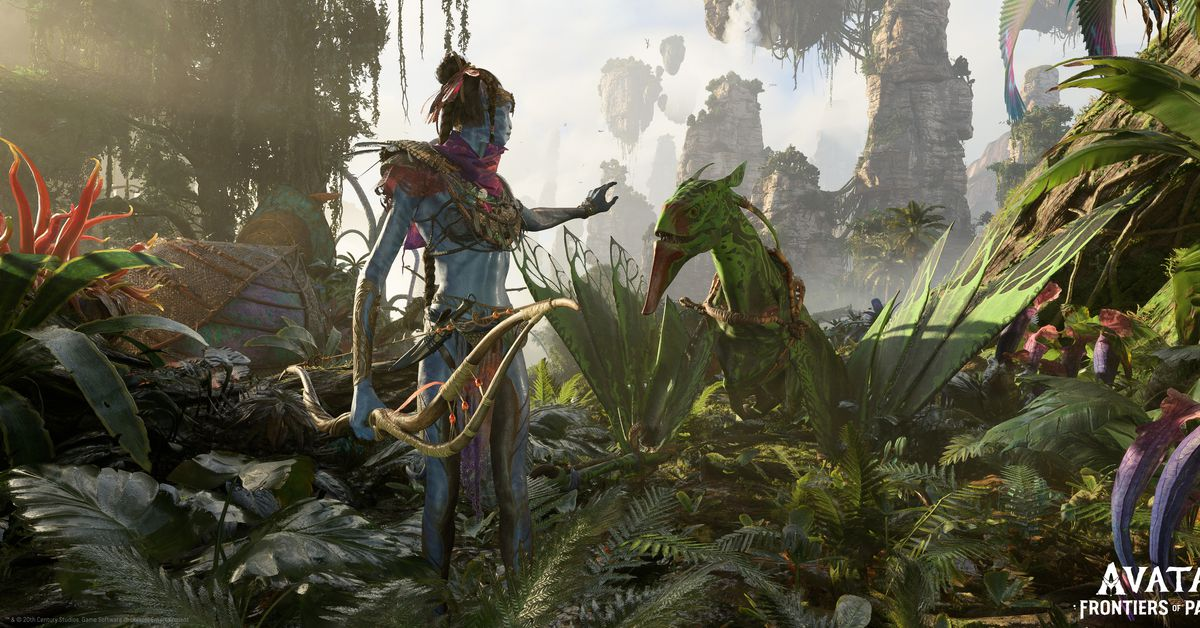 Ubisoft's Avatar: Frontiers of Pandora game revealed at E3 2021