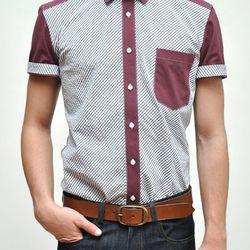 "The Short Sleeve Base Shirt, <a href=""http://shop.alterbrooklyn.com/ALTM102.html"">$155</a>"