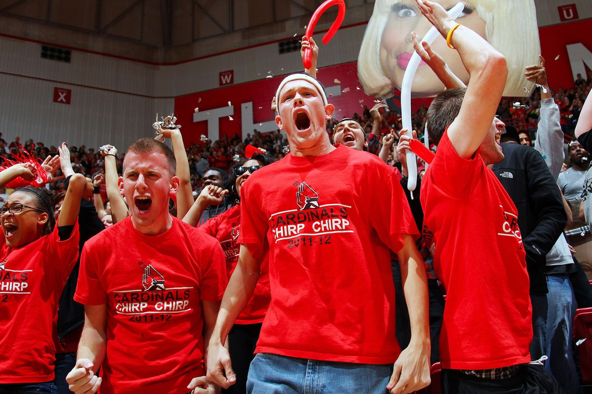 Ball State fans /Michael Hickey-US PRESSWIRE