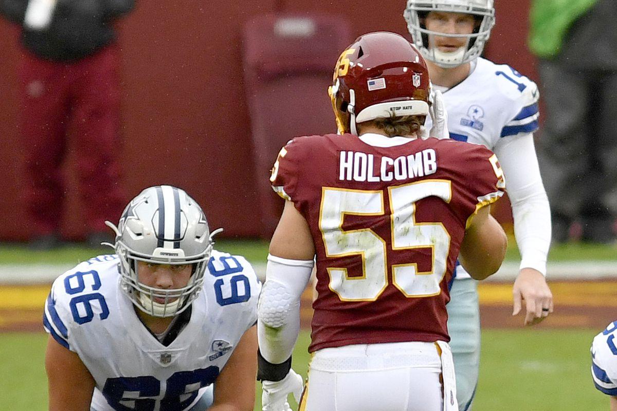 NFL: OCT 25 Cowboys at Washington Football Team