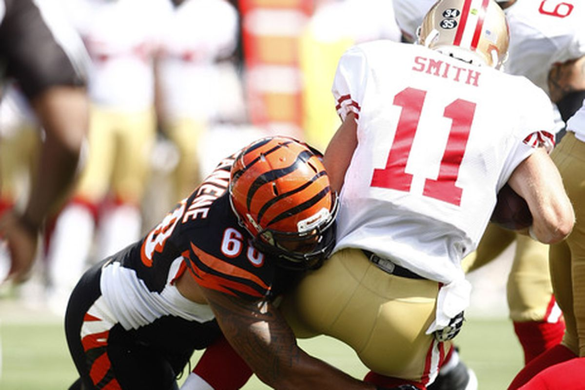 Hopefully Fanene can do this against the 49ers again in 2012.