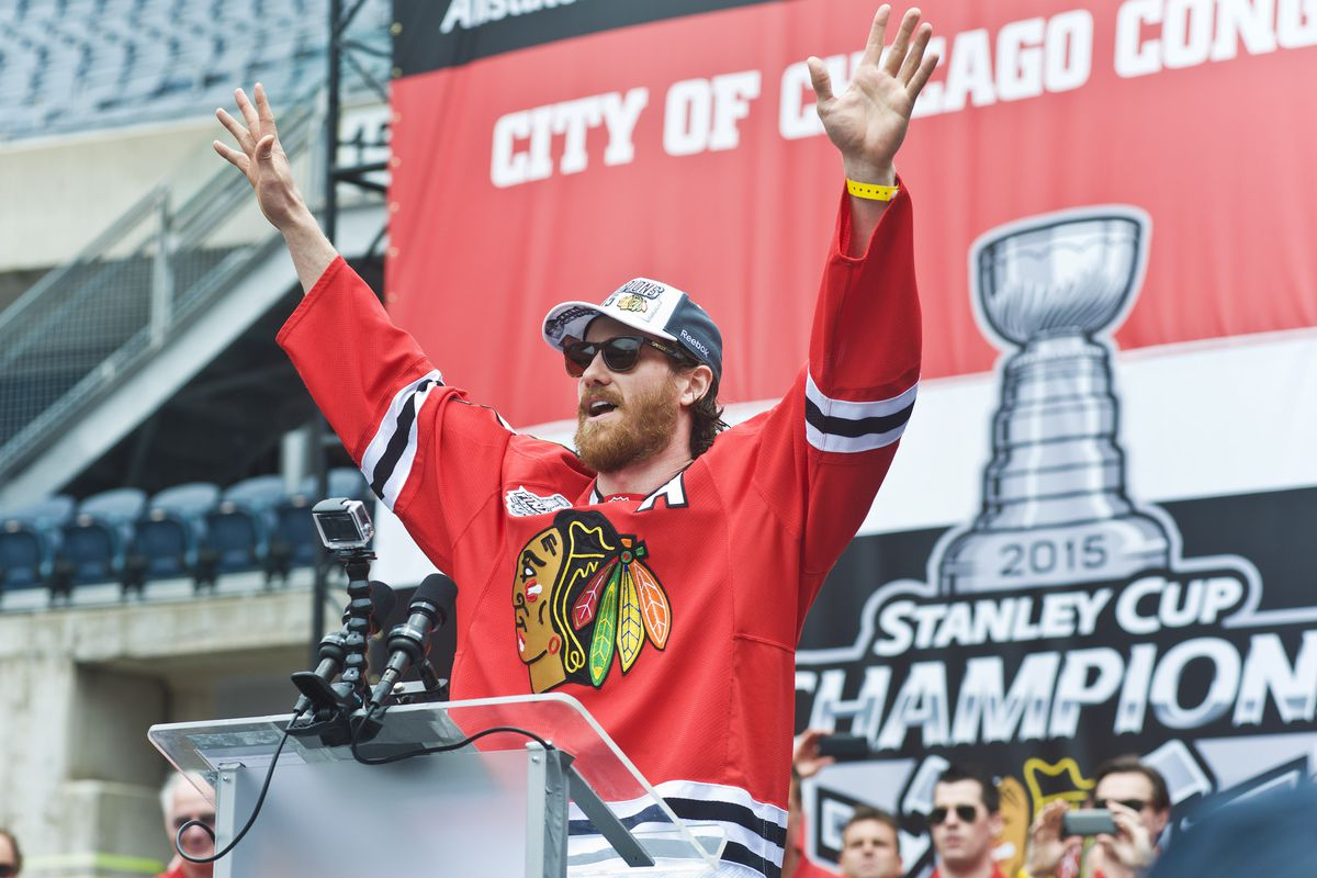 Chicago Celebratory Parade & Rally Honoring The 2015 Stanley Cup Champions, The Chicago Blackhawks