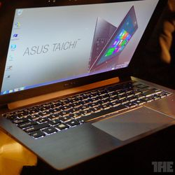how to turn keyboard light on asus taichi