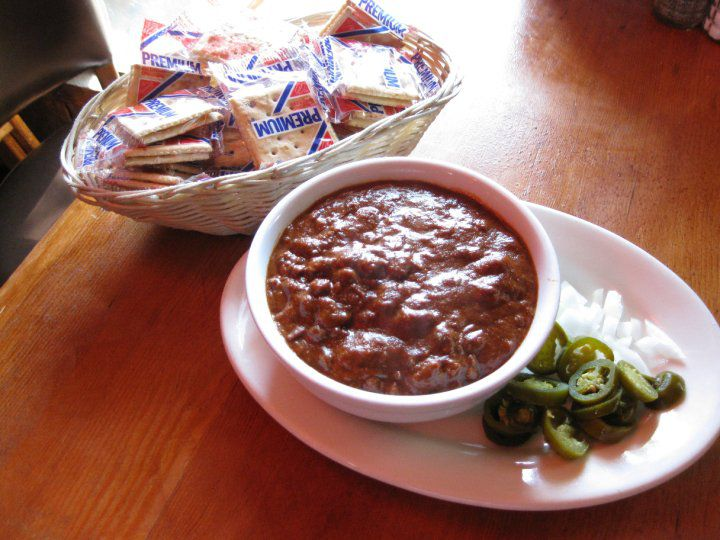 Texas Chili Parlor's chili