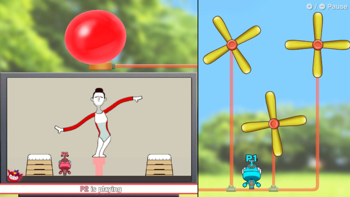 Balloon Ban in WarioWare: Get It Together!