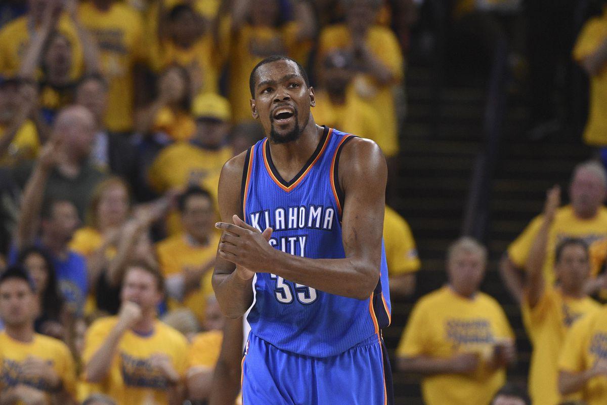 1497c37dfc81 Kevin Durant Oklahoma City Thunder Free Agent Kyle Terada-USA TODAY Sports