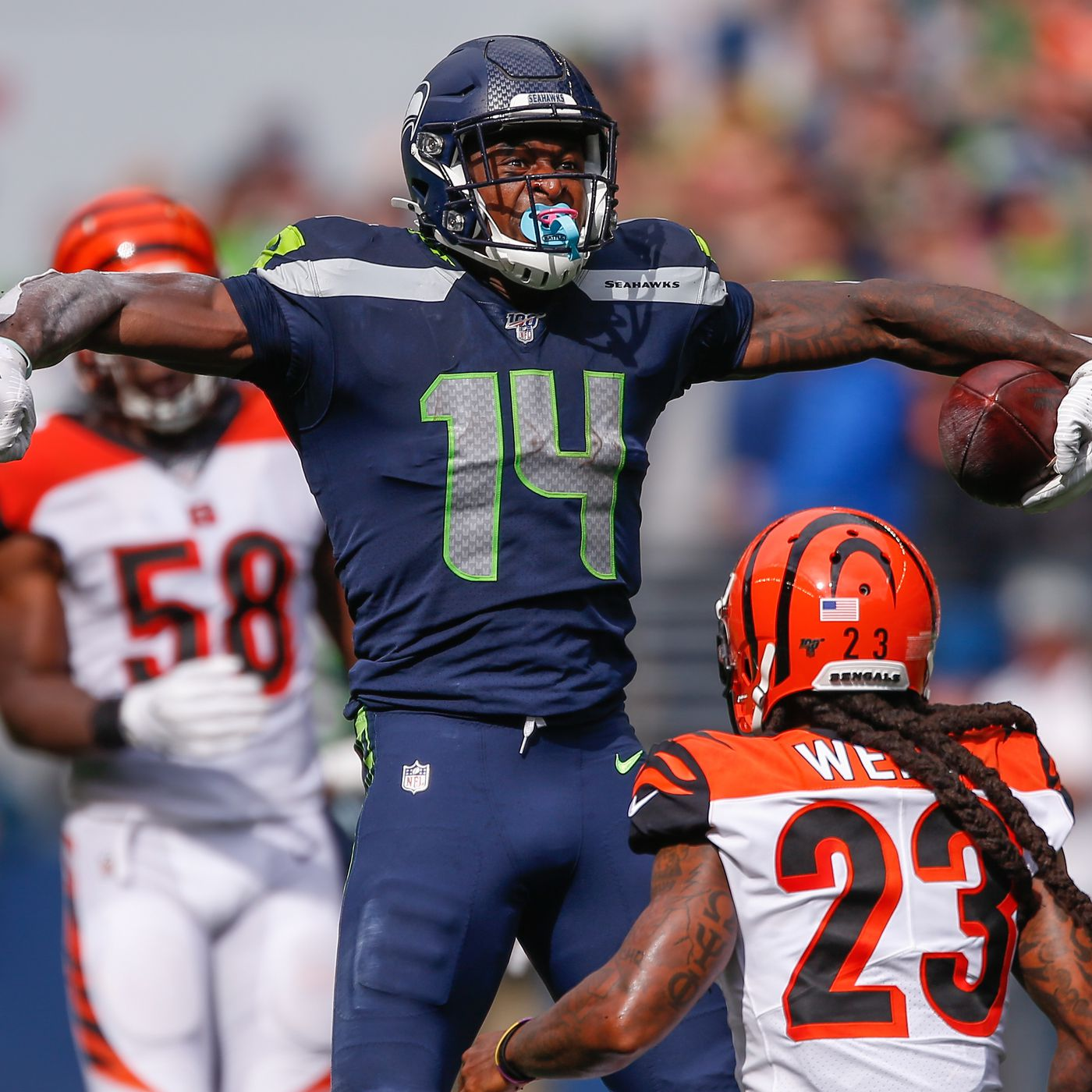 How Dk Metcalf And Other Seattle Seahawks Rookies Against Bengals Field Gulls