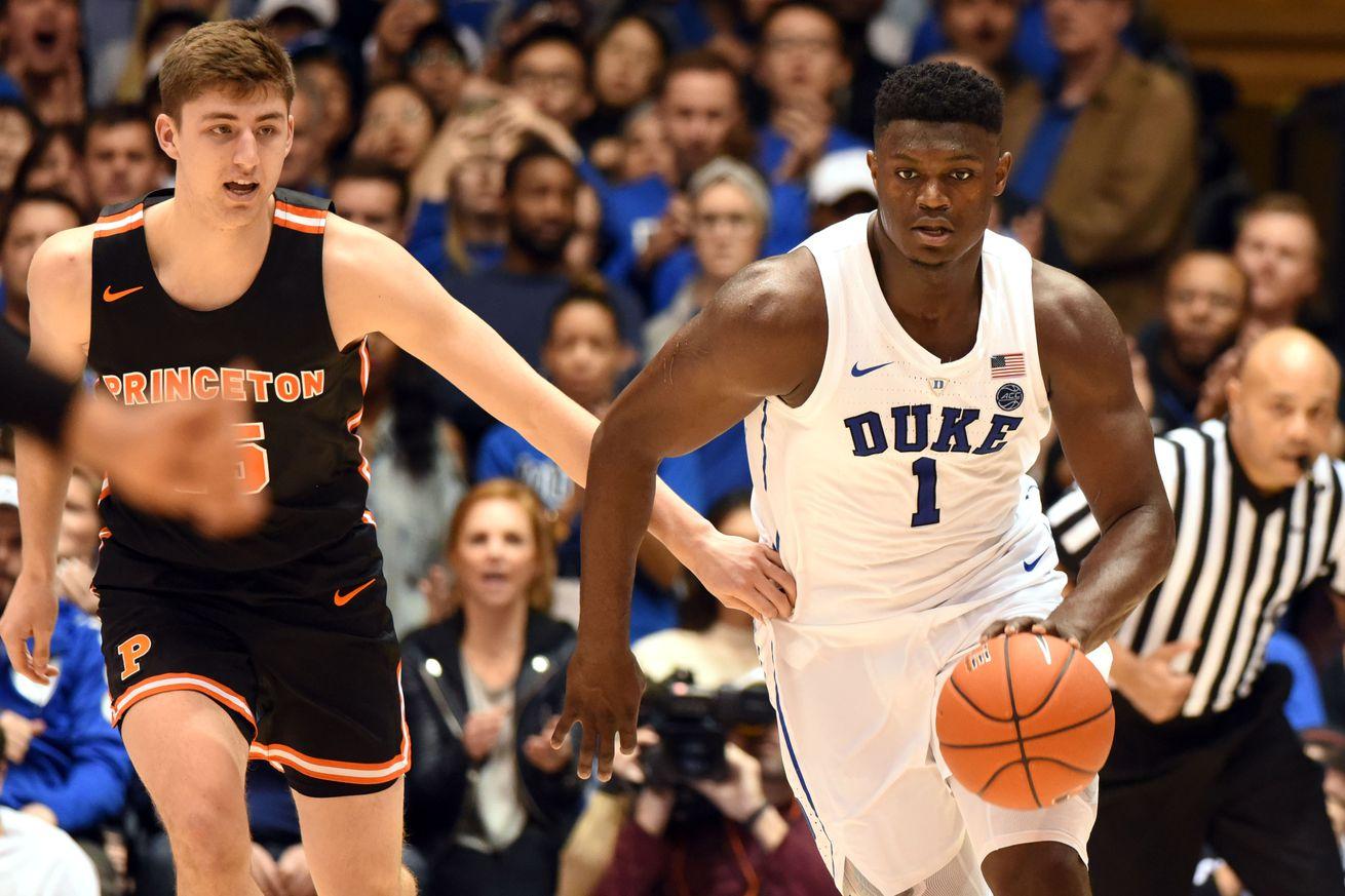 NCAA Basketball: Princeton at Duke
