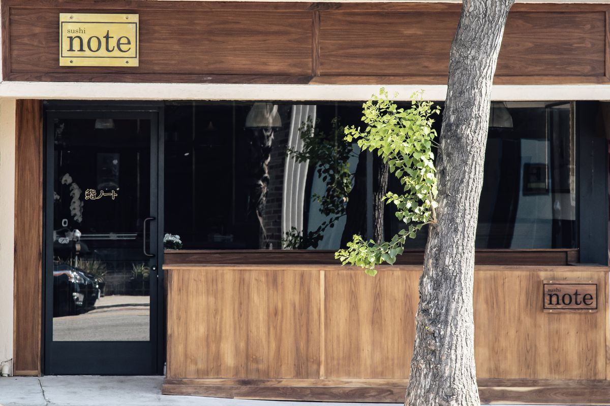Exterior of Sushi Note