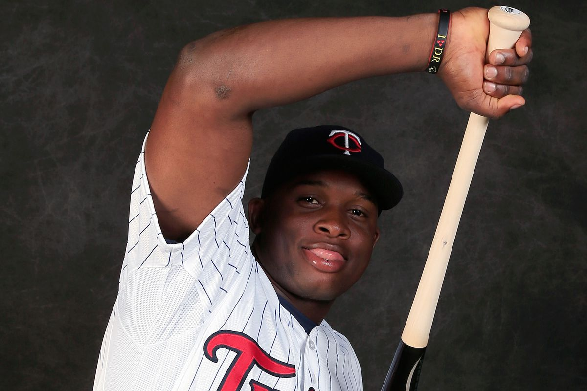 Miguel Sano has to stay in a hotel in Florida during spring training. :(