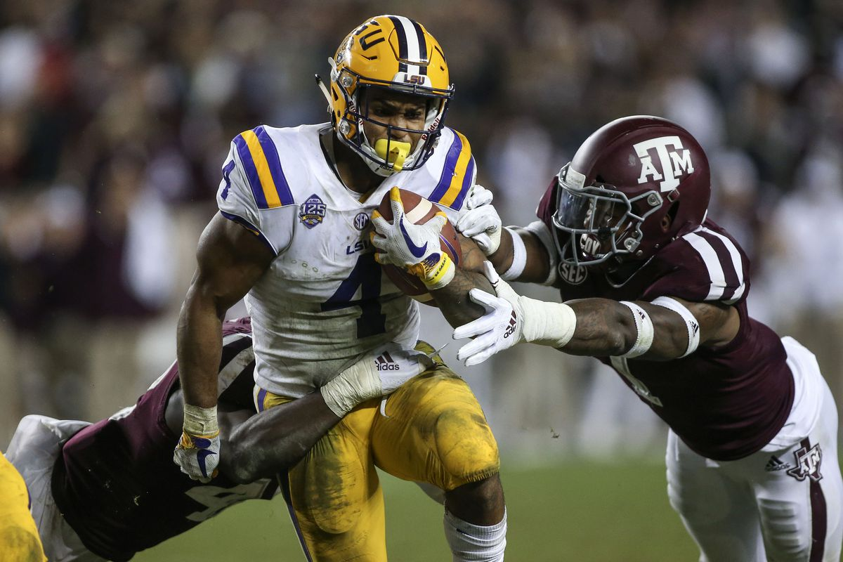 Espn Names Texas A M Lsu The Best Game Of 2018 Good Bull Hunting