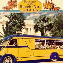 "The Beech Nut Circus truck (<a href=""http://canajohariestories.com/beechnut_circus.htm"">Photo</a>)."
