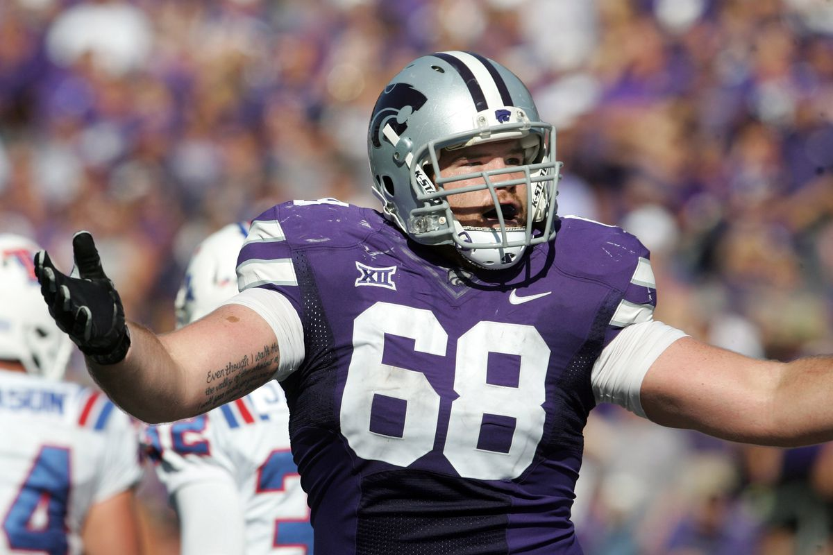 Luke Hayes is one of four starting offensive linemen who graduated after 2015. First in line to fill his shoes is Breontae Matthews.
