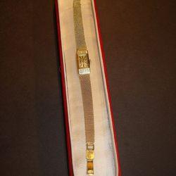 <b>Prisma</b> 14kt Watch, $750