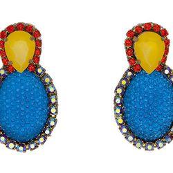 """<b>Doloris Petunia</b> Swarovski Crystal Bubble Earring at <b>M. Flynn</b>, <a href=""""http://mflynnjewelry.com/swarovski-crystal-bubble-earring/p/24037/ac/d/?action=d&cPath=108"""">$110</a>"""