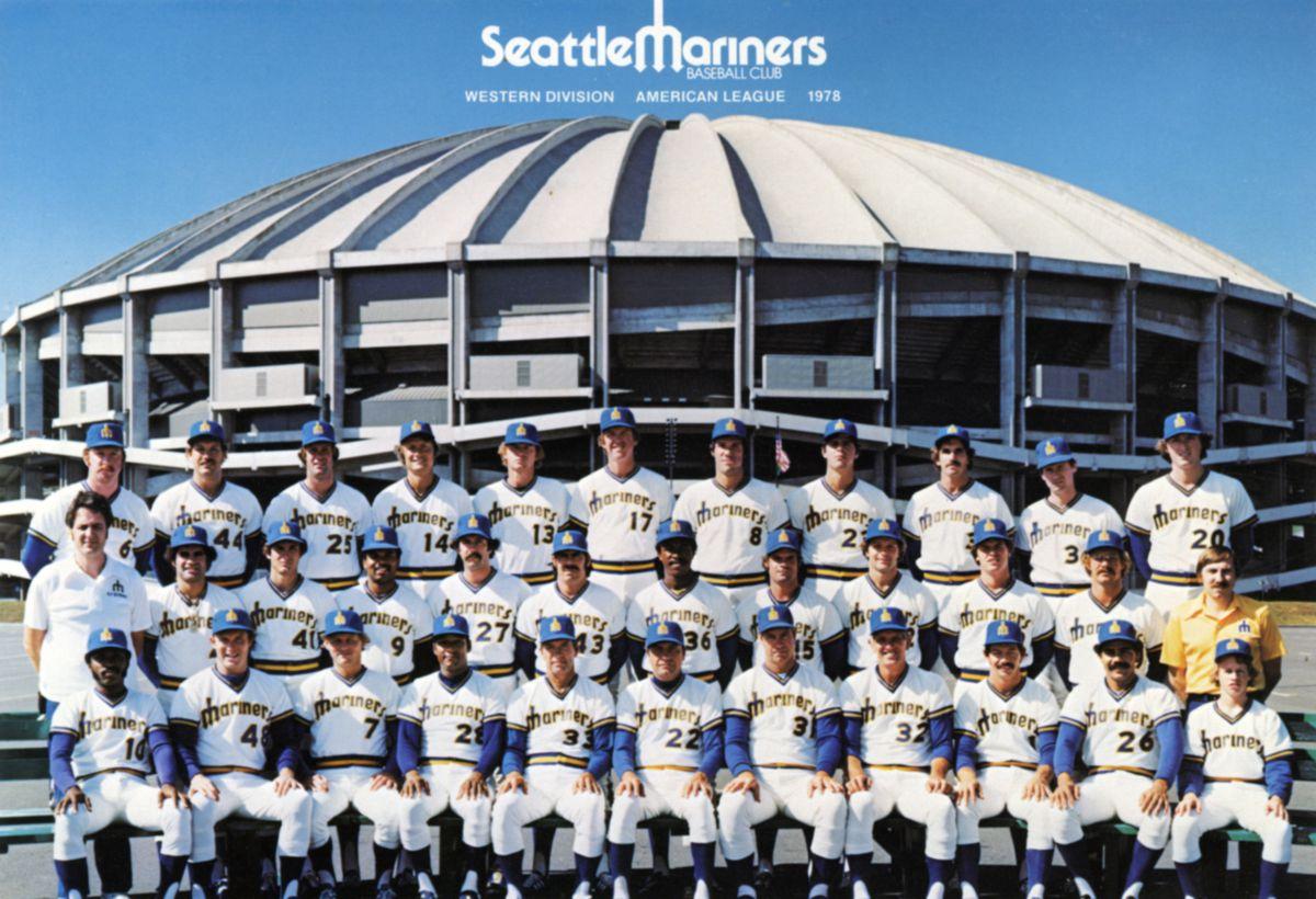 Seattle Mariners Team Portrait